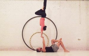 hand-to-hand acro workshop