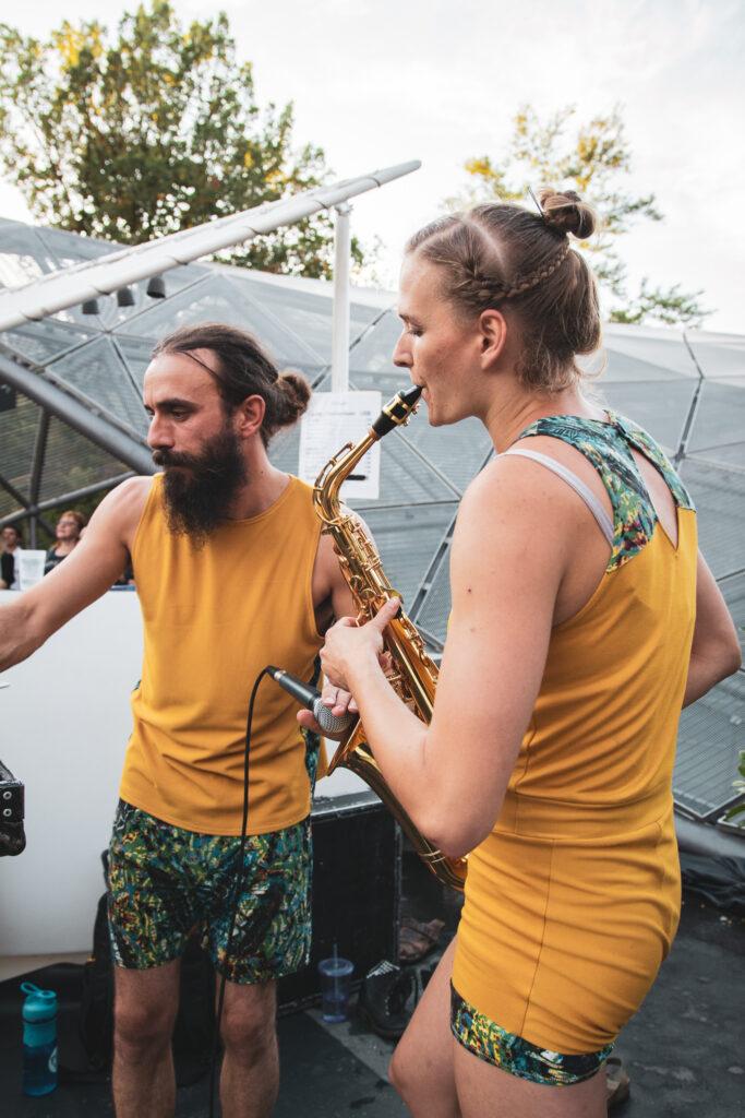 Saxophon live